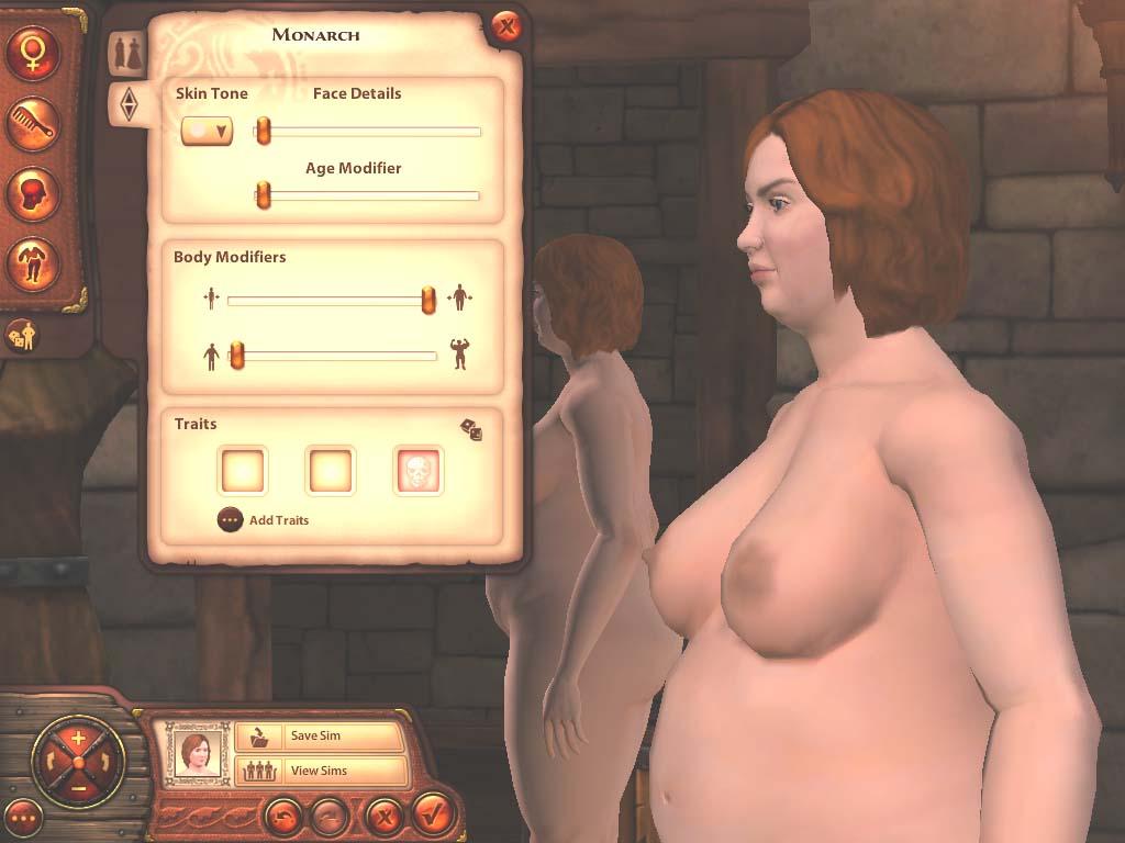 Sims female nude skins